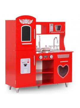 Κουζίνα Παιδική Κόκκινη 84 x 31 x 89 εκ. από MDF  80253