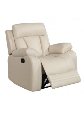 Πολυθρόνα Relax Grate-Κρεμ  Kωδ 16726489 Μήκος 88.00 Βάθος 89.00 Ύψος 99.00