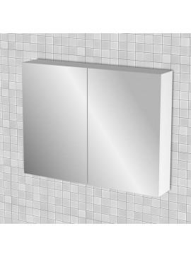 Κρεμαστός Καθρέπτης Μπάνιου Kate, Χρώμα Λευκό γυαλιστερό, 85x14x70. AX-85MIRROR