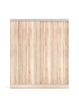Ντουλάπα Monalisa 180x60x205, Δίφυλλη, Συρόμενη, Χρώμα Sonoma. FIL-000611