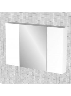 Κρεμαστός Καθρέπτης Μπάνιου Bianca  με 3 ντουλάπια 96*14*65 FIL-000781MIRROR