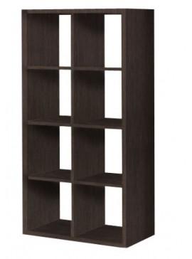 Βιβλιοθήκη με κύβους 2x4 σε διάφορα χρώματα 75x1,45x35  SB 41