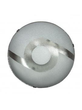 Φωτιστικό Οροφής, Χρώμα Καφέ, με Διάμετρο 29 εκ. 1 Λάμπα Τύπου Ε27 (Max 40 Watt, δεν περιλαμβάνεται). LO-1101-51