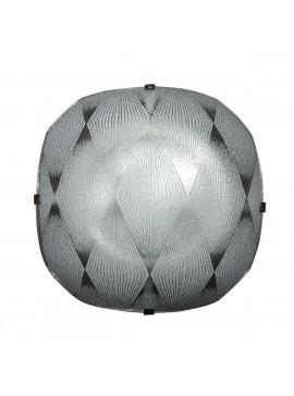 Φωτιστικό Οροφής, Χρώμα Λευκό, 29x29 εκ.  1 Λάμπα Τύπου Ε27 (Max 40 Watt, δεν περιλαμβάνεται). LO-1108-01