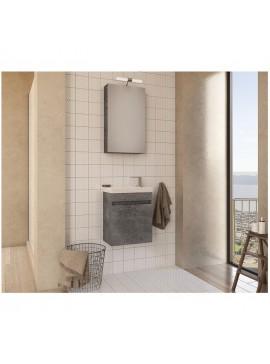 Drop Luxus 45 Granite Έπιπλο Μπάνιου Κρεμαστό 45cm Πλήρες Σετ