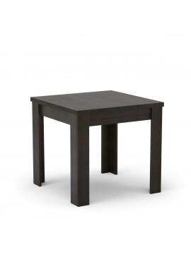 VERA Τραπέζι 80x80, χρώμα Wenge. MIZ-1