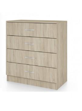 Συρταριέρα, Χρώμα sonoma, 43,5x76x80, Genomax  12814-3245222