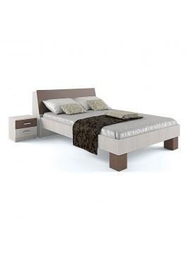 Κρεβάτι Cross 140x200 Ημίδιπλο, ο αποθηκευτικός χώρος βρίσκεται στο κεφαλάρι SO-BED140