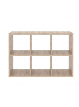 SHELVING ΡΑΦΙΕΡΑ 111x34x75 χρώμα Sonoma. TO-SHELVING1100
