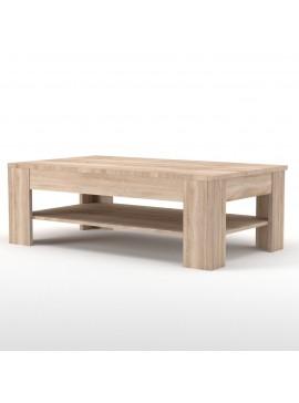 Τραπέζι Σαλονιού Solo 69. 5x120 Sonoma TO-SOLOCOFF