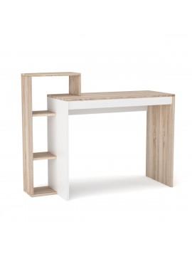 Γραφείο 110x40x90cm Χρώμα Sonoma-Λευκό. TO-TAB110NSO
