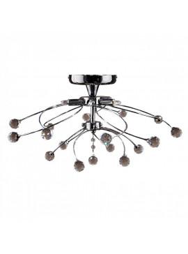 Φωτιστικό οροφής, Χρώμιο με Κρύσταλλα, 5 λάμπες τύπου G9 (Max 40 Watt, δεν περιλαμβάνονται), TOP-1510CA-5