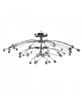 Φωτιστικό οροφής, Χρώμιο με Κρύσταλλα, 8 λάμπες τύπου G9 (Max 40 Watt, δεν περιλαμβάνονται), TOP-1510CA-8
