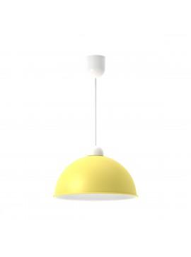 Φωτιστικό κρεμαστό,μεταλλικό, χρώμα Κίτρινο, διάμετρος 27 εκ.TOP-9030-1K