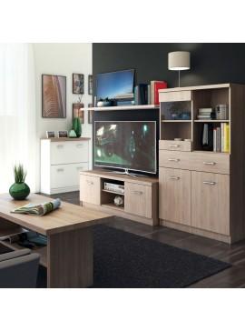 Σύθεση TV 3 τεμ. 200x42x150 Χρώμα Sonoma. TO-TOPMIXSET3
