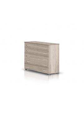 Heri Xylo  Συρταριέρα σειρά ΝΕΤ με 5 συρτάρια 90 cm x 90 x 43.5cm -ΚΩΔ.09-04