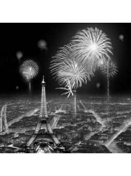 Πίνακας Πυροτεχνήματα Παρισιού 90x90 εκ . W-8942A