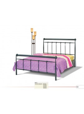 Νο 73 Κρεβάτι Διπλό Μεταλλικό 160x190/200cm