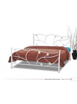Ν38 Κρεβάτι Διπλό Μεταλλικό 160x190/200cm