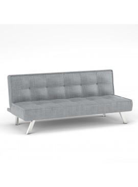 Καναπές Κρεβάτι Chic ,Γκρί Υφασμα 178x80x76, ZK-ZB18-3BGR