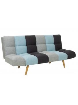 Καναπές - κρεβάτι 3θέσιος Freddo pakoworld με ύφασμα πολύχρωμο 182x81x84εκ 024-000005