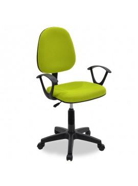 Καρέκλα γραφείου εργασίας Maria pakoworld με ύφασμα mesh χρώμα πράσινο 034-000014
