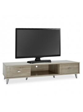 Έπιπλο τηλεόρασης FIRENZE pakoworld χρώμα sonoma 150x40x33εκ 049-000025