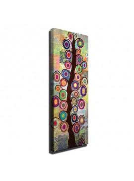 Πίνακας σε καμβά PWF-0106 pakoworld με ψηφιακή εκτύπωση 30x3x80εκ 071-000126