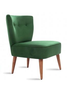 Πολυθρόνα PWF-0072 pakoworld με ύφασμα χρώμα πράσινο 65x52x80εκ 071-000167