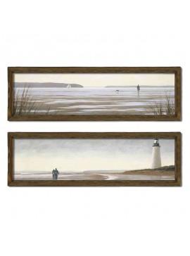 Πίνακας σε mdf PWF-0210 pakoworld με ξύλινο πλαίσιο-ψηφιακή εκτύπωση 2πτυχο 071-000538