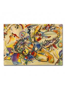 Πίνακας σε ύφασμα PWF-0270 pakoworld με ψηφιακή εκτύπωση 100x3x70εκ 071-000781