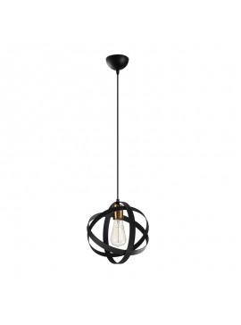 Φωτιστικό οροφής PWL-0116 pakoworld χρώμα μαύρο antique 25x25x121εκ 071-000821