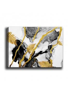 Πίνακας σε καμβά PWF-0289 pakoworld με ψηφιακή εκτύπωση 70x3x50εκ 071-000845
