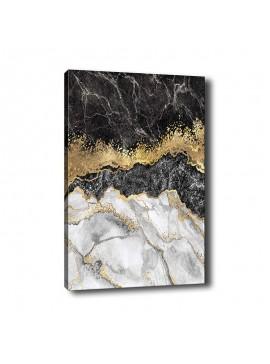 Πίνακας σε καμβά PWF-0294 pakoworld με ψηφιακή εκτύπωση 70x3x100εκ 071-000850