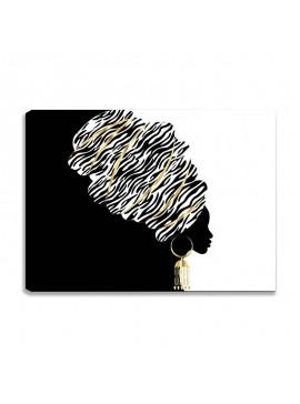 Πίνακας σε καμβά PWF-0299 pakoworld με ψηφιακή εκτύπωση 70x3x50εκ 071-000871