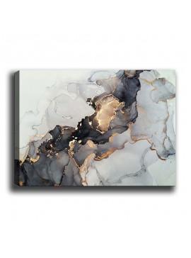 Πίνακας σε καμβά PWF-0301 pakoworld με ψηφιακή εκτύπωση 70x3x50εκ 071-000873