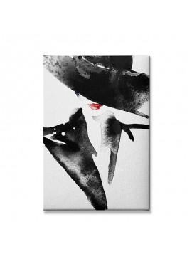 Πίνακας σε καμβά PWF-0302 pakoworld με ψηφιακή εκτύπωση 50x3x70εκ 071-000874