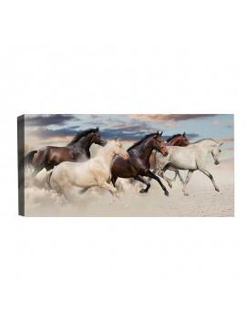 Πίνακας σε καμβά PWF-0397 pakoworld με ψηφιακή εκτύπωση 80x4x30εκ 071-001012