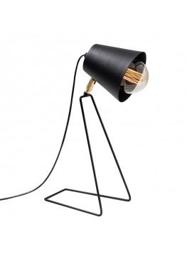 Επιτραπέζιο φωτιστικό PWL-0180 pakoworld Ε27 μαύρο 15x25x48εκ 071-001041