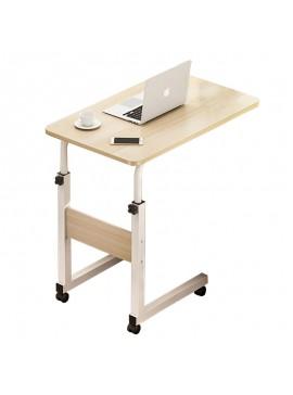 Βοηθητικό τραπέζι Talf pakoworld τροχήλατο φυσικό-λευκό 60x40x85εκ 072-000047