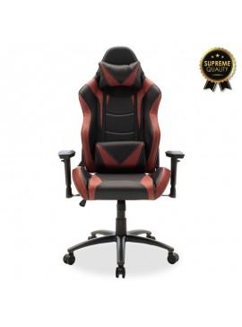 Καρέκλα γραφείου Russel-Gaming SUPREME QUALITY pu μαύρο-μπορντώ 095-000002