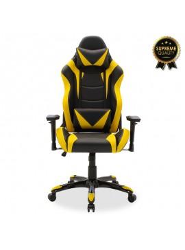Καρέκλα γραφείου Russel-Gaming SUPREME QUALITY pu μαύρο-κίτρινο 095-000004