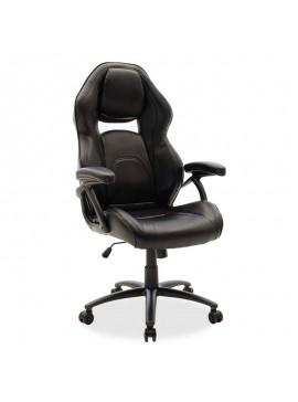 Καρέκλα γραφείου Schumacher gaming pakoworld pu μαύρο 095-000007