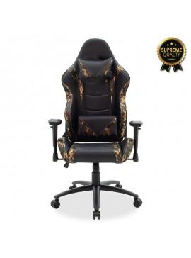 Καρέκλα γραφείου Russel-Gaming SUPREME QUALITY pu μαύρο-military 095-000012