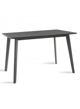 Τραπέζι Benson pakoworld MDF με καπλαμά  χρώμα rustic grey 120x75x75εκ 097-000004
