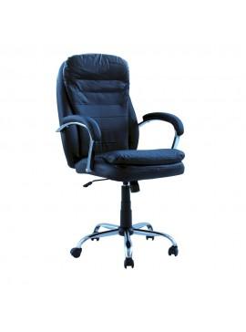Καρέκλα γραφείου διευθυντή Inferno klikareto με pu χρώμα μαύρο 72x77x110/121 100-02271