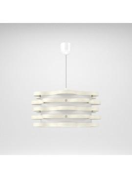 Φωτιστικό Κρεμαστό Florence MED LIGHT Λευκό 1 Λάμπα Τύπου Ε27 LED 48*48*100 MED-10160