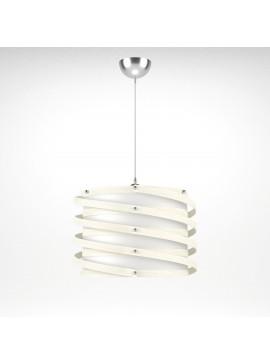 Φωτιστικό Κρεμαστό Rome MED LIGHT Λευκό 1 Λάμπα Τύπου Ε27 LED 37*37*105 MED-10390