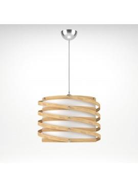 Φωτιστικό Κρεμαστό Rome MED LIGHTΚαφέ Φυσικό 1 Λάμπα Τύπου Ε27 LED 37*37*105 MED-10392