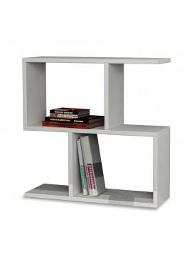 Βοηθητικό τραπέζι Homemania pakoworld χρώμα λευκό 60x20x60εκ 119-000054